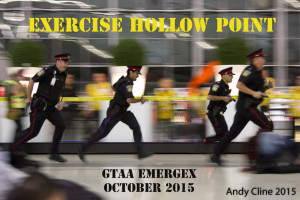 Peel Regional Police, PRP, EXERCISE HOLLOW POINT, GTAA Emergency Exercise, Live Shooter, Greater Toronto Airports Authority, October6 2015, Toronto Lester B.Pearson International Airport, CYYZ, YYZ, Toronto, Mississauga, ON, (c) copyright Andrew H. Cline 2015, Andy Cline, Andrew Cline, andrew.cline@sympatico.ca, 416 209 2669