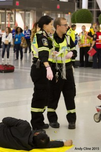 EXERCISE HOLLOW POINT, GTAA Emergency Exercise, Live Shooter, Greater Toronto Airports Authority, October6 2015, Toronto Lester B.Pearson International Airport, CYYZ, YYZ, Toronto, Mississauga, ON, (c) copyright Andrew H. Cline 2015, Andy Cline, Andrew Cline, andrew.cline@sympatico.ca, 416 209 2669
